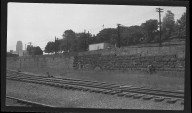 Miscellaneous Photographs -- Box 54, Folder 17 (Front Street Overpass Point Isabella) -- negative, 1940