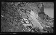 Miscellaneous Photographs -- Box 54, Folder 21 (Kellogg Avenue Slide at Little Miami River) -- negative, 1940
