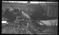 Miscellaneous Photographs -- Box 54, Folder 29 (Mill Creek Barrier Dam) -- negative, 1941-11-01