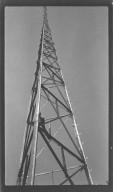Miscellaneous Photographs -- Box 54, Folder 33 (Police Two-Way Radio Tower Eden Park) -- negative, 1941-08-01