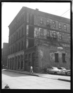 Miscellaneous Photographs -- Box 54, Folder 37 (Third Street Distributer Negatives) -- negative, 1955
