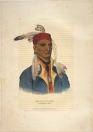 [History of the Indian Tribes of North America, Shin-ga-ba-w'ossin, a Chippeway chief]
