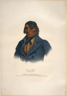 [History of the Indian Tribes of North America, Waa-pa-shaw, a Sioux chief]