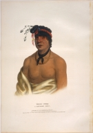 [History of the Indian Tribes of North America, Wesh-cubb, a Chippeway chief]