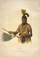 [History of the Indian Tribes of North America, Naw-kaw, a Winnebago chief]