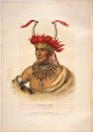 [History of the Indian Tribes of North America, Chon-mon-i-case, an Otto half chief]