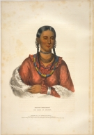[History of the Indian Tribes of North America, Hayne-Hudjihini, the Eagle of Delight]