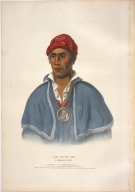 [History of the Indian Tribes of North America, Qua-twa-pea, a Shawanoe chief]
