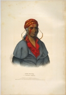 [History of the Indian Tribes of North America, Payta-kootha, a Shawanoe warrior]