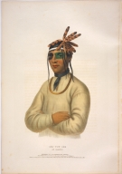 [History of the Indian Tribes of North America, Caa-tousee, an Ojibway]