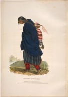 [History of the Indian Tribes of North America, Chippeway squaw & child]