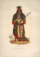 [History of the Indian Tribes of North America, Wa-na-ta, grand chief of the Sioux]