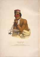 [History of the Indian Tribes of North America, Wa-em-boesh-kaa, a Chippeway chief]