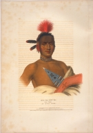 [History of the Indian Tribes of North America, Moa-na-hon-ga, Great Walker, an Ioway chief]