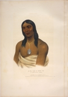 [History of the Indian Tribes of North America, A-na-cam-e-gish-ca, a Chippeway chief]