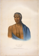 [History of the Indian Tribes of North America, Lap-pa-win-soe, a Delaware chief]