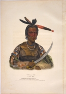 [History of the Indian Tribes of North America, To-ka-con, a Sioux chief]