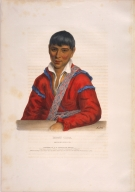 [History of the Indian Tribes of North America, Paddy Carr, Creek interpreter]