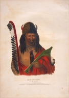 [History of the Indian Tribes of North America, Kish-ke-kosh, a Fox brave]