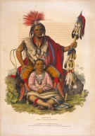 [History of the Indian Tribes of North America, Keokuk, chief of the Sacs & Foxes]