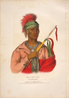 [History of the Indian Tribes of North America, Ne-o-mon-e, an Ioway chief]