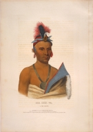 [History of the Indian Tribes of North America, Kee-shes-wa, a Fox chief]