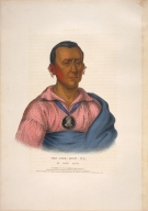 [History of the Indian Tribes of North America, Wat-che-mon-ne, an Ioway chief]