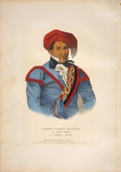 [History of the Indian Tribes of North America, Justen Nuggee Emathla or Jim Boy, a Creek chief]