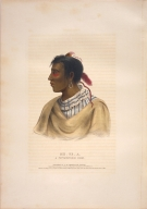 [History of the Indian Tribes of North America, Me-te-a, a Pottawatomie chief]