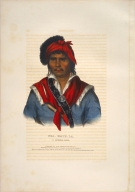 [History of the Indian Tribes of North America, Nea-math-la, a Seminole chief]