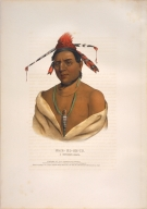 [History of the Indian Tribes of North America, Mar-ko-me-te, a Menomene brave]