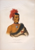 [History of the Indian Tribes of North America, Pes-ke-le-cha-ko, a Pawnee chief]