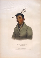 [History of the Indian Tribes of North America, Ka-ta-wa-be-da, a Chippeway chief]