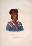[History of the Indian Tribes of North America, Foke-luste-hajo, a Seminole]