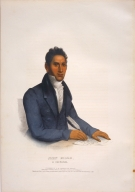 [History of the Indian Tribes of North America, John Ridge, a Cherokee]