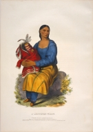 [History of the Indian Tribes of North America, A Chippeway widow]