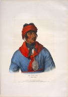 [History of the Indian Tribes of North America, Se-loc-ta, a Creek chief]