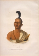 [History of the Indian Tribes of North America, Kai-pol-e-quah, White Nosed Fox]