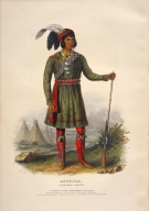 [History of the Indian Tribes of North America, Asseola, a Seminole leader]