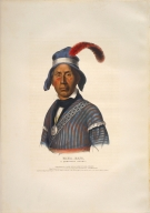 [History of the Indian Tribes of North America, Yaha-Hajo, a Seminole chief]