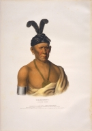 [History of the Indian Tribes of North America, Wakechai, a Saukie chief]