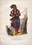 [History of the Indian Tribes of North America, Tuko-see-mathla, a Seminole chief]