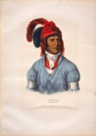 [History of the Indian Tribes of North America, Ledagie, a Creek chief]