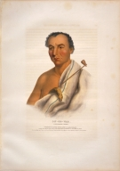 [History of the Indian Tribes of North America, On-ge-wae, a Chippewa chief]