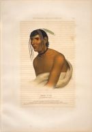 [History of the Indian Tribes of North America, Jack-o-pa, a Chippewa chief]