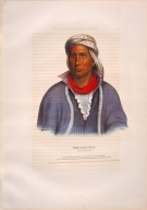 [History of the Indian Tribes of North America, Kee-she-waa, a Fox warrior]