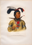 [History of the Indian Tribes of North America, A Winnebago]