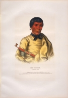 [History of the Indian Tribes of North America, Pee-che-kir, a Chippewa chief]