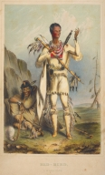 [History of the Indian Tribes of North America, Red-Bird, A Winnebago]