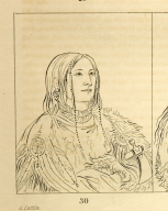 [He Who Has Eyes Behind Him (also known as Broken Arm), a foremost brave, Letters and Notes on the Manners, Customs, and Condition of the North American Indians.]